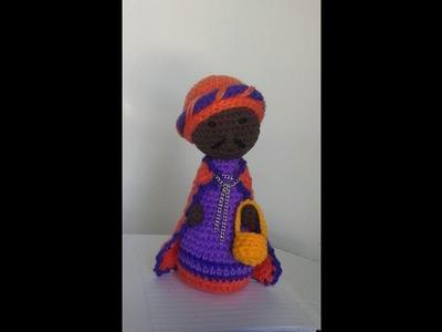 Pesebre al crochet:el Rey Baltasar