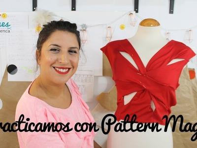 Prácticas con Pattern Magic - Patronista Flamenca