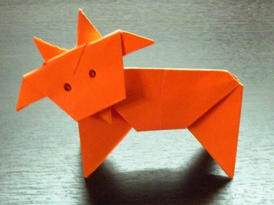 Como hacer HOROSCOPO Super Cool | Origamis de papel CAPRICORNIO (Muy fácil)