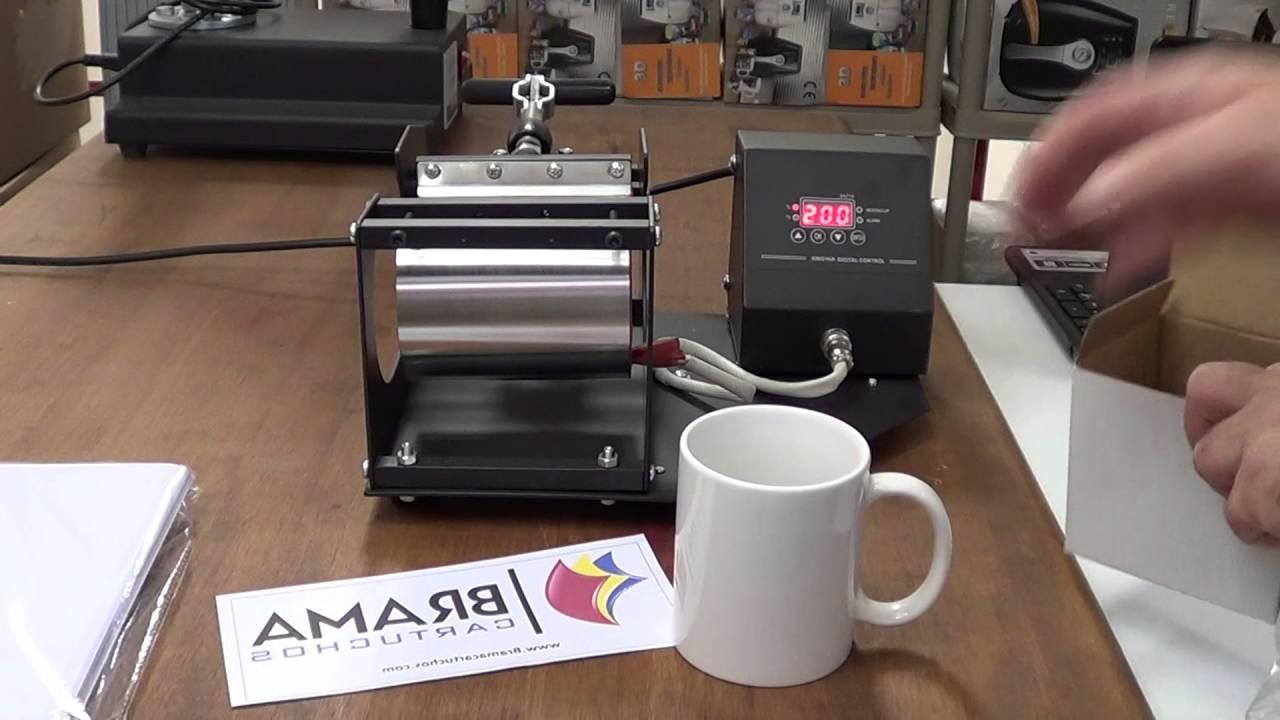 Como hacer una taza 11 oz personalizada con tinta de sublimacion para Epson y una prensa termica