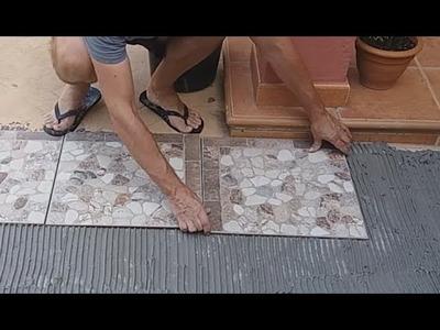 Cómo instalar un piso cerámico. Proceso completo