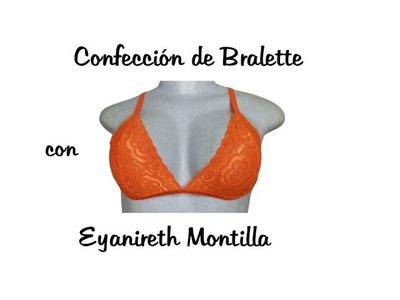 Confección de Bralette