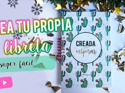 CREA TU LIBRETA PERSONALIZADA PARA BULLET JOURNAL
