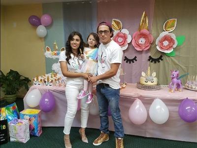 ????????CUMPLEAÑOS DE ALEXA #3 DE UNICORNIO ???? + ideas ????para decorar. Unicorn party????????????