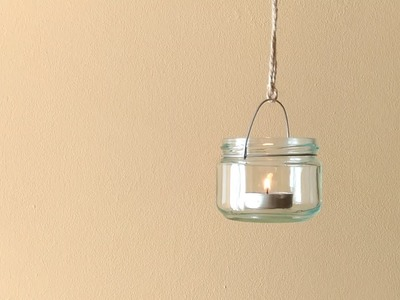 Decoración - Tarro Colgante (Decoration - Hanging jar)