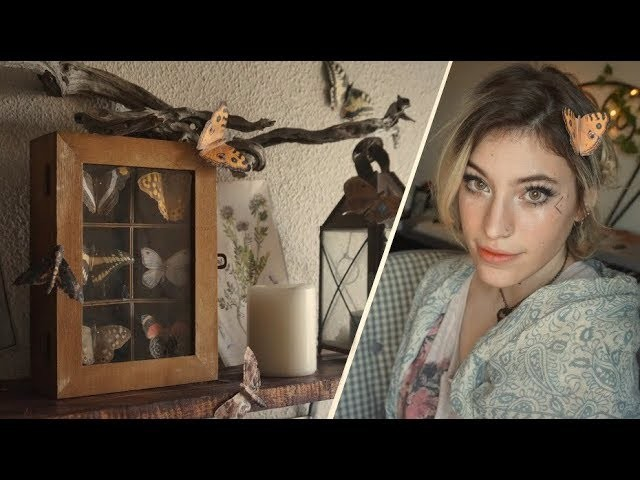 DIY COLECCIÓN DE MARIPOSAS DE PAPEL | Decoración VINTAGE para tu habitación