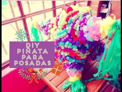 DIY crea tu piñata para estas posadas ( 7 picos)
