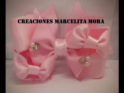 DIY. Moño 3D.Bow 3D