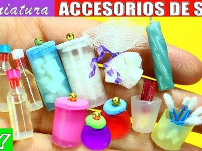DIY Productos para la piel, Spa y baño en Miniatura 100% Reales 10 Manualidades Fáciles para Muñecas