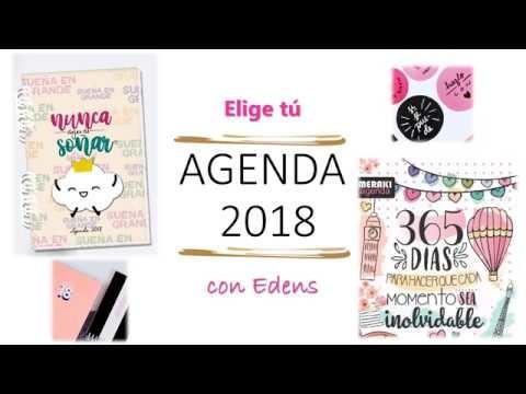 Elige tu agenda 2018- PLANNER 2018 -  Agendas Venezolanas- AprendeconEdens