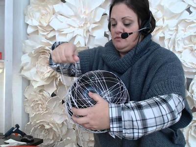 Globos de hilo para decorar nuestra mesa de dulces  1 Video 110