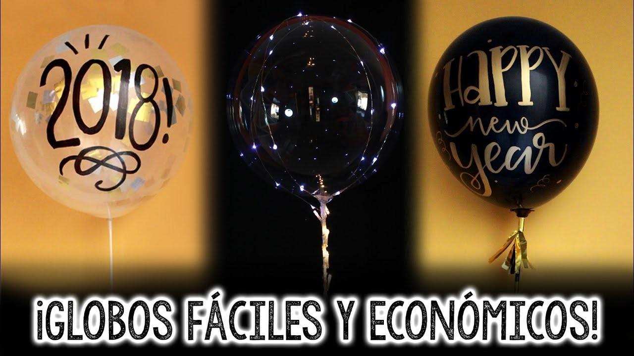GLOBOS LUZ LED Fácil y económico!! ✄ Barbs Arenas Art!