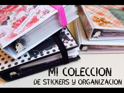 Mi coleccion de stickers y organizacion