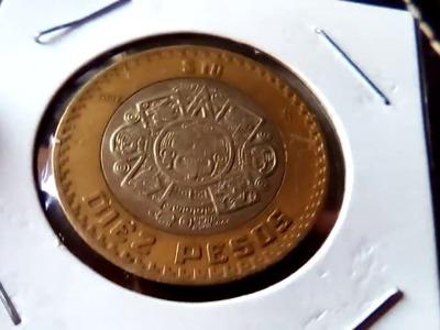 Moneda de $10 pesos que debes buscar en el cambio!!.GRAFILA INVERTIDA