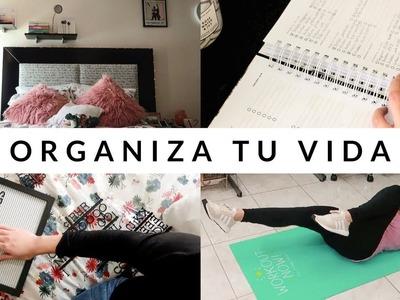 Organiza tu vida para 2018 | #SEMANADEMETAS Día 1