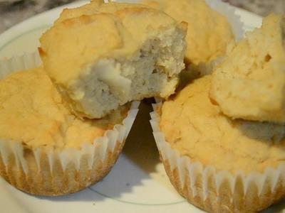 Panecitos de coco! Rico y saludable pan para bajar de peso!