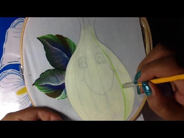 Pintura en tela fin de semana # 1 con cony