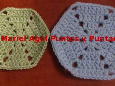 Posavasos muy fácil de hacer en crochet y muy lindo
