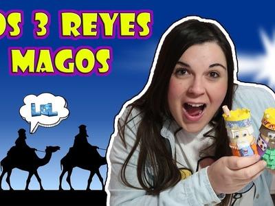 Reyes Magos 2018 manualidad DIY LOL Retos Divertidos - Escribimos la carta a los Reyes Magos !!!