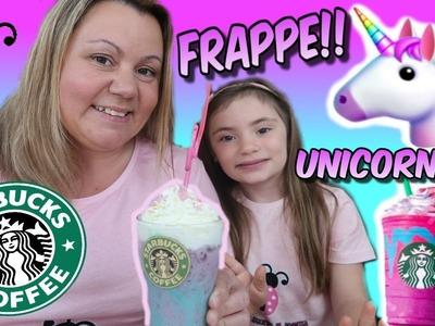 Como hacer Frappe Unicornio - Muy fácil