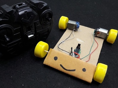 Cómo hacer un simple coche RC - Control remoto
