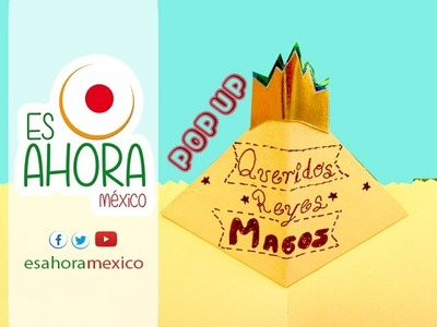 COMO HACER UNA CARTA A LOS REYES MAGOS #1 POP UP