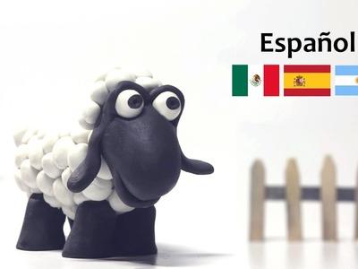 Cómo hacer una oveja con plastilina -  Paula, la Oveja - Manualidades fáciles