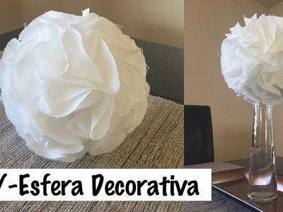DIY- ESFERA DE TELA PARA DECORAR | ELYSSA'S CUBBY