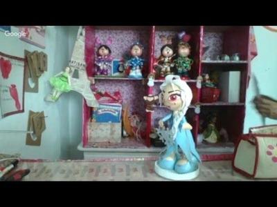 Fofucha Princesa Elsa para Halloween