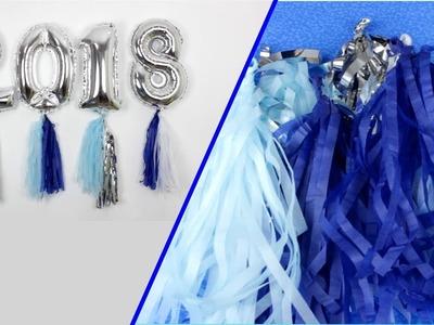 IDEAS PARA AÑO NUEVO. COMO HACER GLOBOS DE AÑO NUEVO - Hablobajito