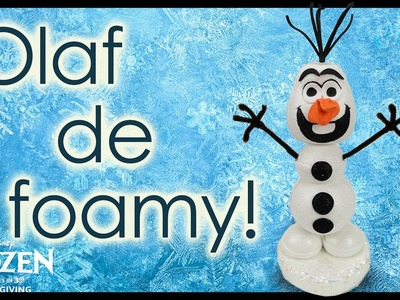 ¡Tutorial Olaf de Frozen! Todo de Foamy - Conny