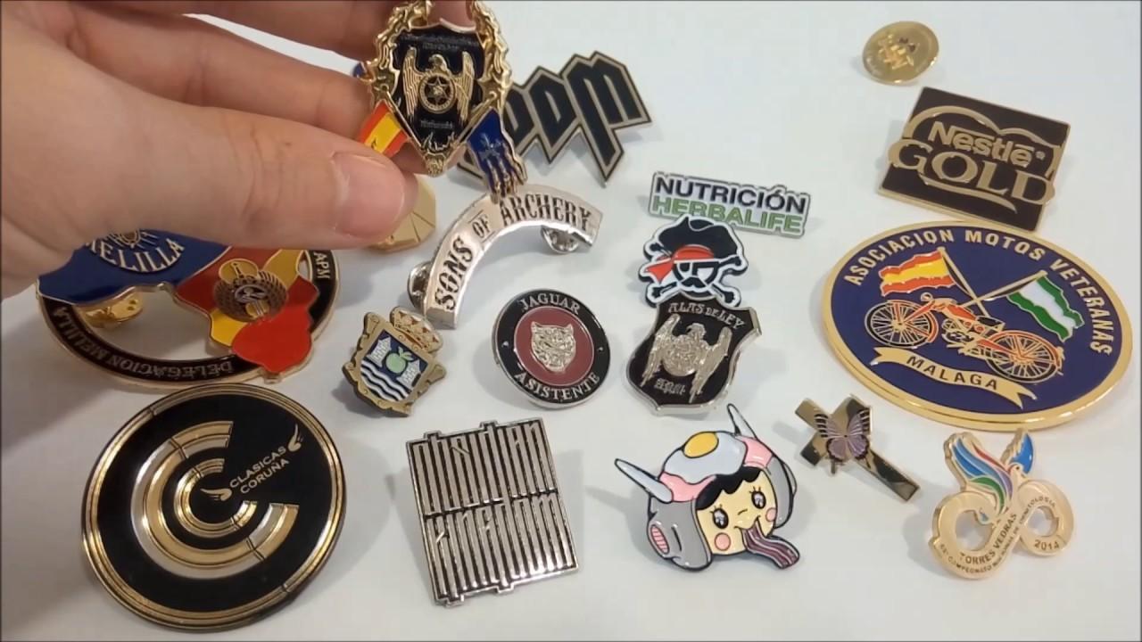 Pins Personalizados de metal con Colores - Pinsbaratos.com