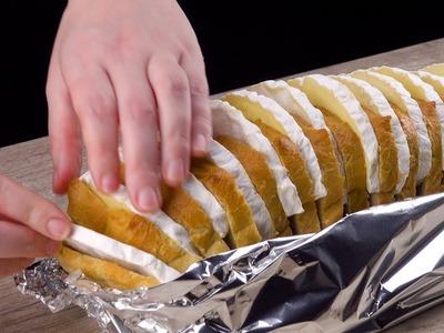 Recetas de pan relleno: ¡tres veces sabroso y caliente!