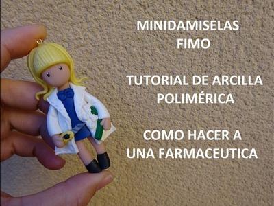 TUTORIAL DE FIMO DE COMO HACER UNA FARMACEUTICA