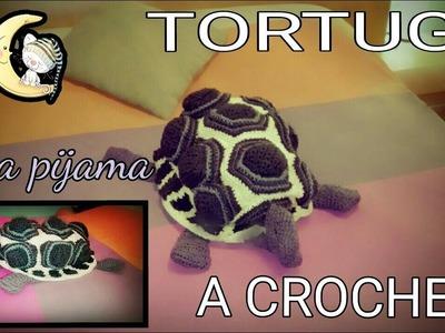 ????2-TORTUGA GUARDA PIJAMAS *a crochet-2ªparte.Manualidades Fabricaideas