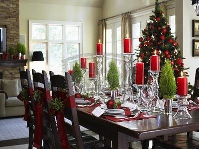 6 elementos infaltables en la mesa para la cena de navidad -  Ideas para la mesa de navidad