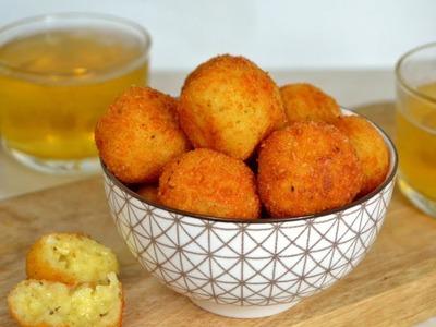 Bolitas de queso fritas ¡Fáciles y deliciosas!