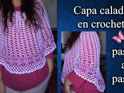 CAPA en crochet PASO A PASO 1de 2