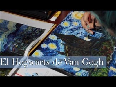 Castillo de Hogwarts | Estudio en Van Gogh