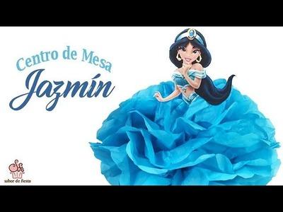 CENTRO DE MESA PRINCESA JAZMÍN. Disney Princess Centerpieces ???? Sabor de Fiesta