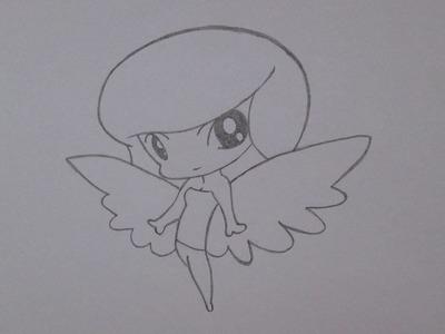 Cómo dibujar un ángel