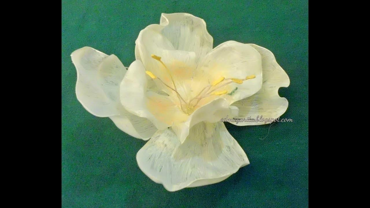 Cómo Hacer Flores De Plástico Reciclaje