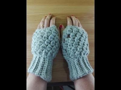 Como hacer MITONES ???? a crochet , Mitones de ganchillo