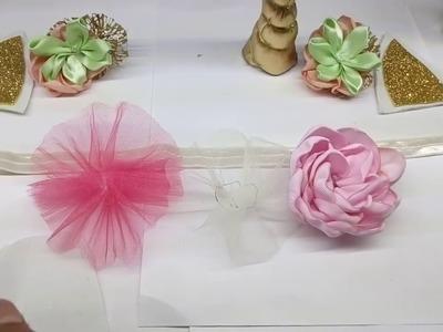 Como hacer una diadema de unicornio para bebe. unicornio hairbow