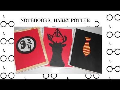 DIY NOTEBOOK HARRY POTTER. DECORA TUS LIBRETAS DE HARRY POTTER