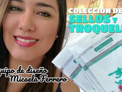 Equipo de diseño Micaela Ferrero, su COLECCIÓN SELLOS Y TROQUELES - Claudia Rafaella