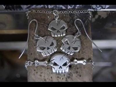 Fabricacion de anillo calavera en plata by:RICARDO MARTINEZ GONZALEZ