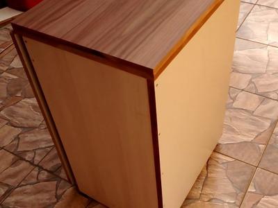 Gabinete para máquina de costura