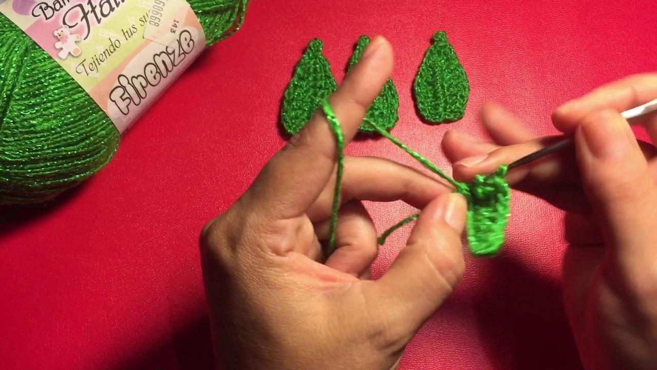 Hojas a crochet fácil y rápidas(1)
