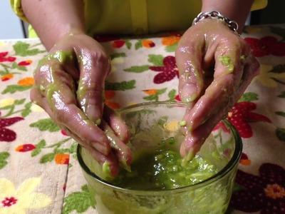 Mascarillas Para Manos Secas,Ásperas y Agrietadas.DIY Hand Mask For Dry, Rough, Cracked Hands